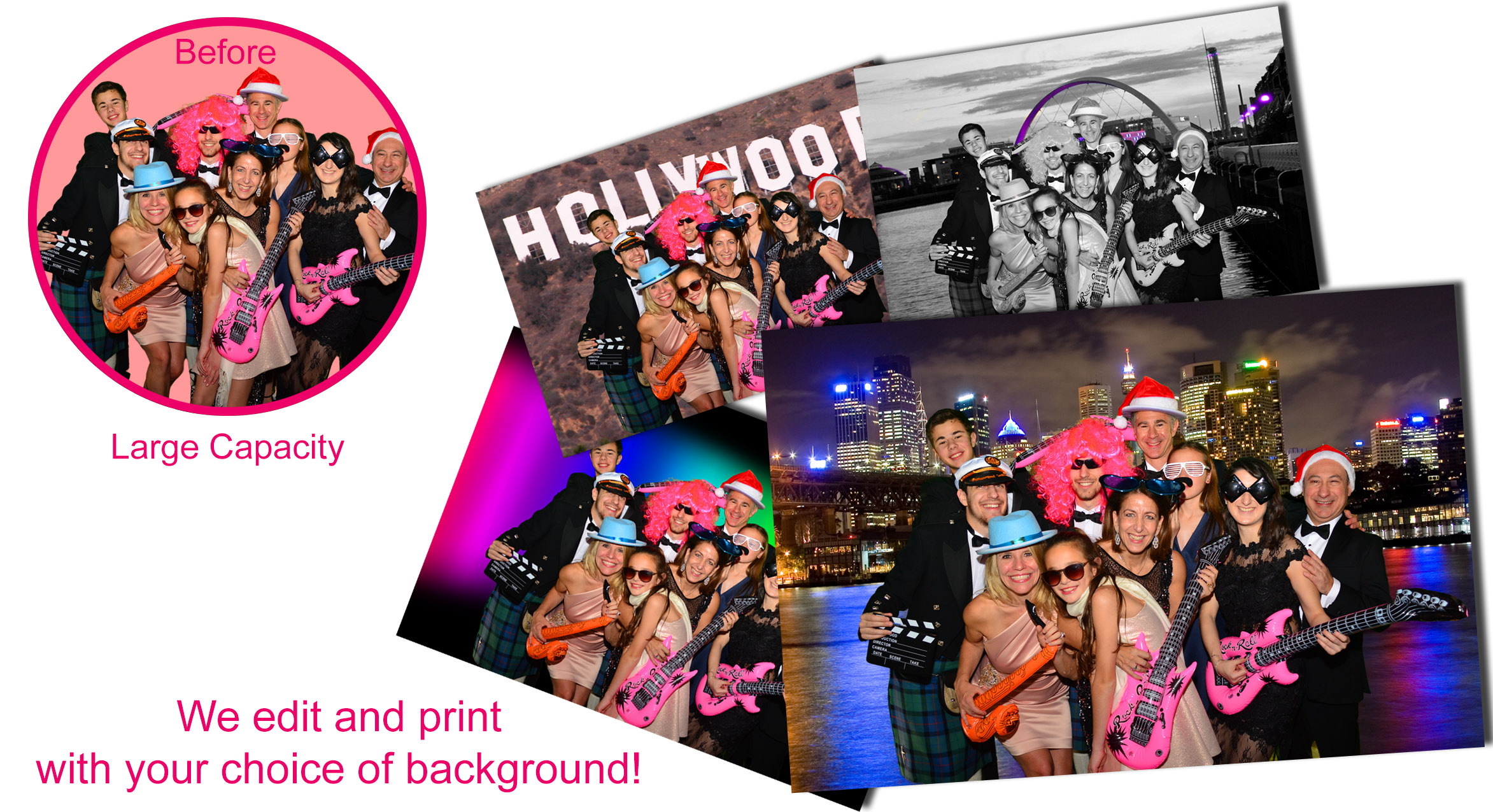 Green Screen Photo Booth Hire - Scotland   UK-Photo-Booth co uk
